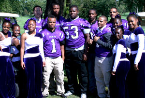 Sophisticats and football players at the 2012 Wildcat Open