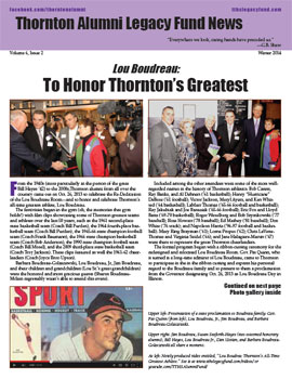 TALF Newsletter - Winter 2014 (click image to download and view)