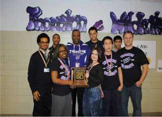 Thornton Township High School's 2014 Chess Team.